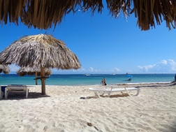 View from my cabana, Punta Cana